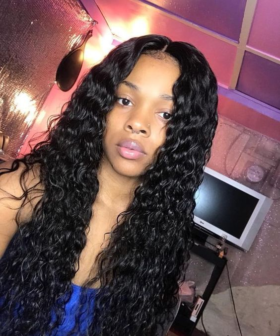 Brazilian Water Wave 3 Bundles With Closure 4 4 Water Wave