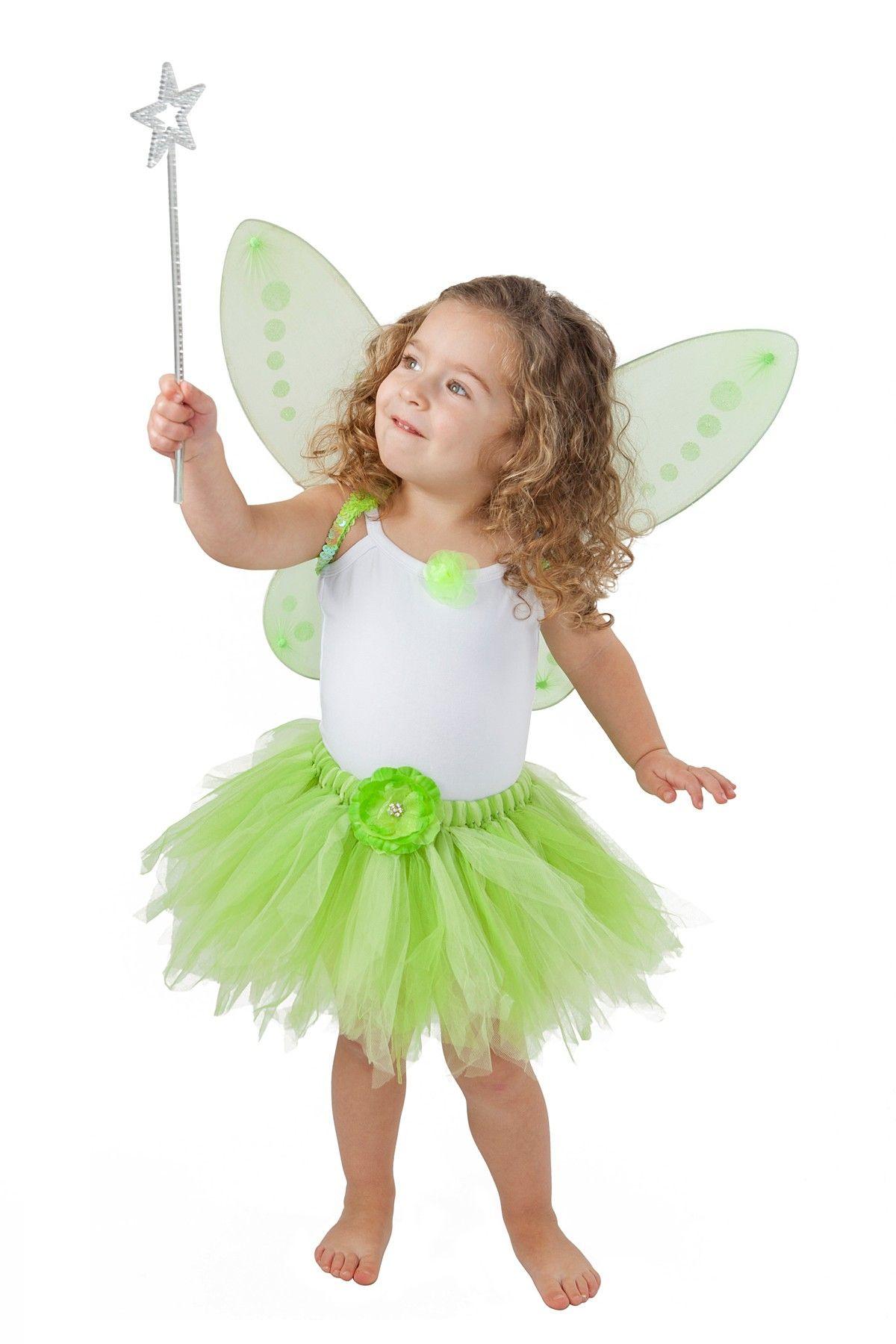 Heart To Heart Green Tinkerbell Dress Up Set Toddler Little Girls Tinker Bell Costume Toddler Costumes Tinkerbell Costume Toddler [ 1800 x 1200 Pixel ]
