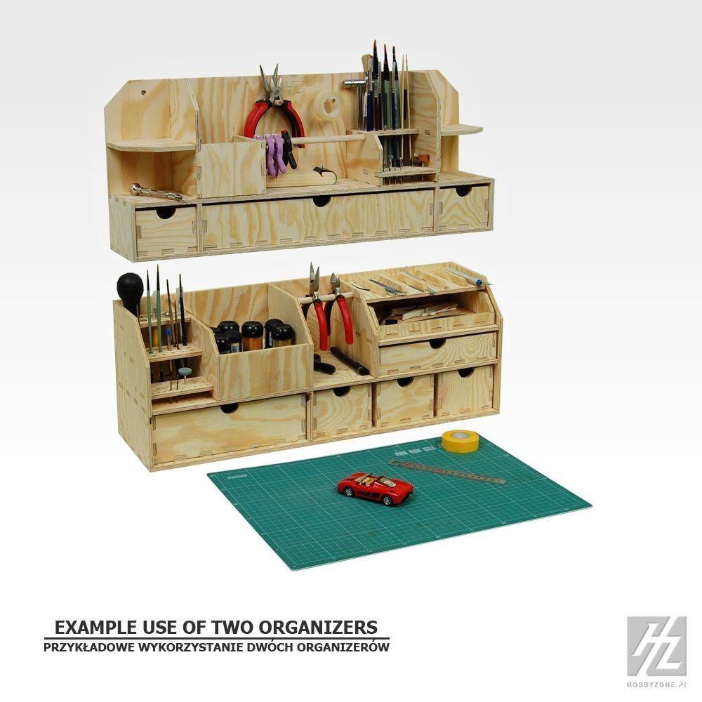 Details zu wandregal f r tisch werkbank wall organizer for Tisch organizer design