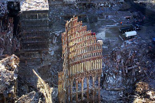 Ground Zero, New York City. October 26, 2001. #groundzeronyc
