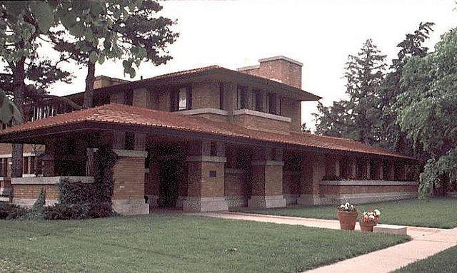 Flw Nuzman House 1918 Frank Lloyd Wright Homes Frank Lloyd Wright Buildings Architecture