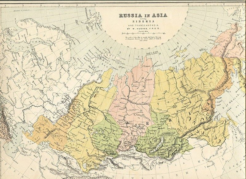 Vintage map of Russia in Europe | Maps | Pinterest | Vintage maps ...