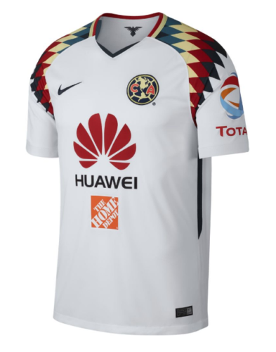 a22a47bc0 NIKE CLUB AMERICA AWAY JERSEY 2017 18. YOUR TEAM. YOUR COLORS. The 2017 18  Club America Stadium Away Men s Soccer Jersey is made with lightweight ...