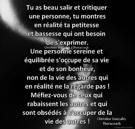 Critiques Dictons Et Citations Citation Jalousie Citation
