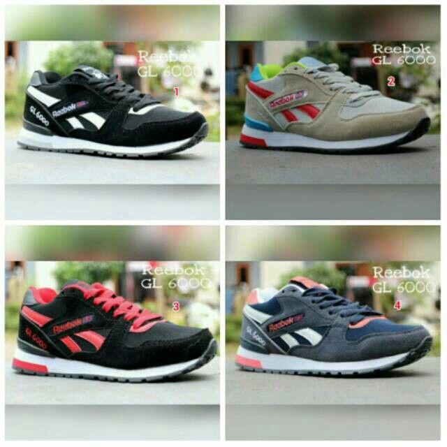 Saya Menjual Sepatu Rerbok Gl6000 Perempuan Sport Wanita Jogging