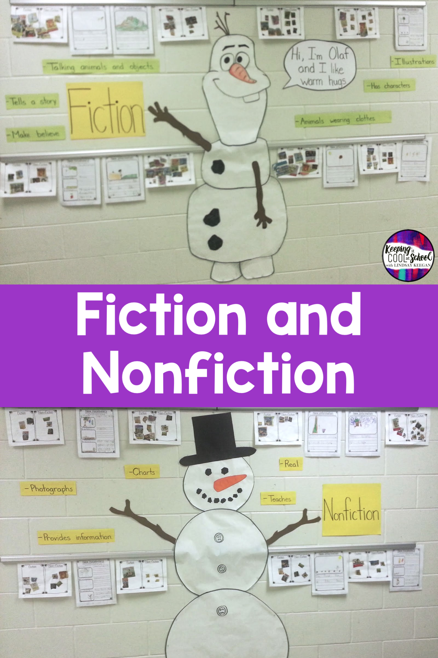 Fiction And Nonfiction Activities In