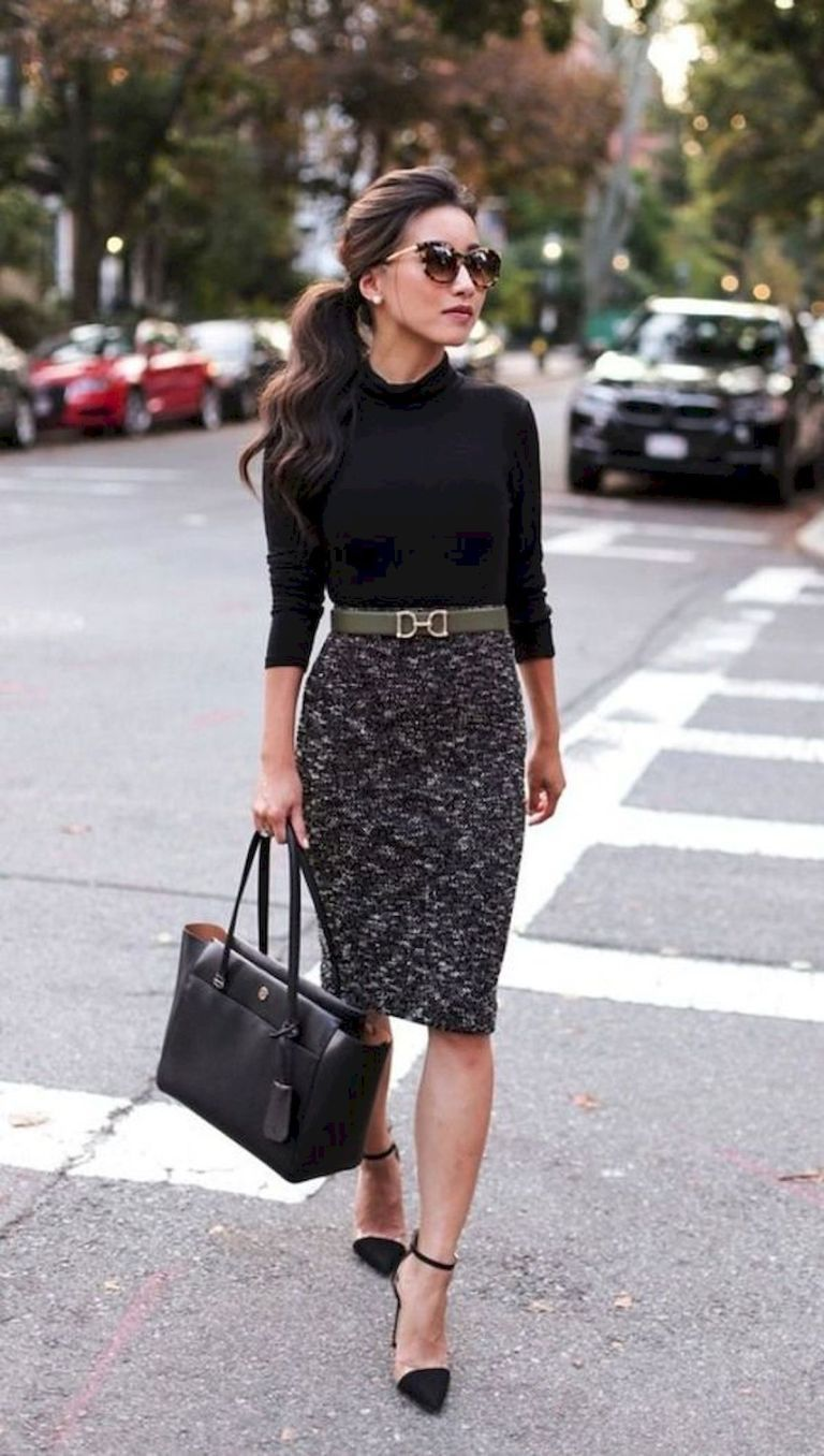 66 Best Work Outfits Women Office Ideas (60) - Fashion and Lifestyle #womensworkoutfits