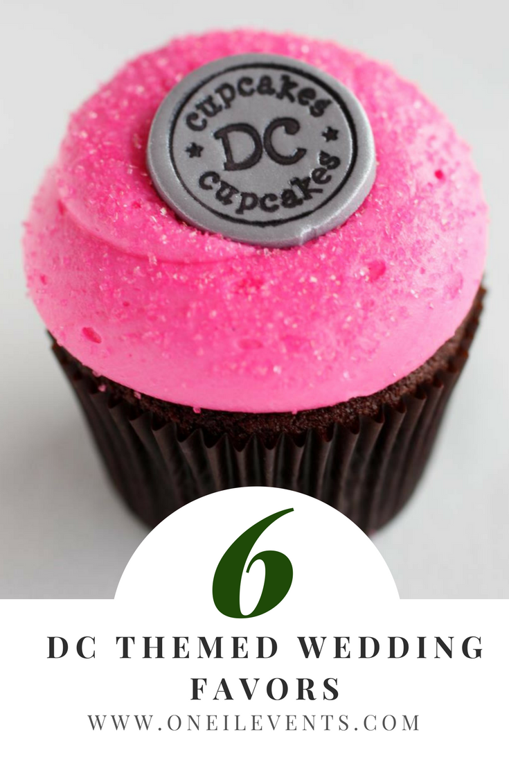 Tips from a Wedding Planner - DC Themed Wedding Favors   Wedding ...