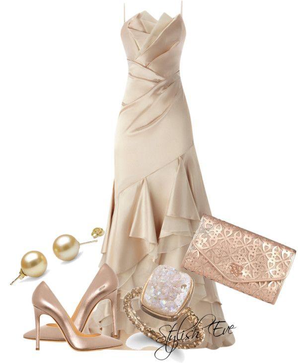 """""""Coast Rose Dress"""" by stylisheve on Polyvore"""