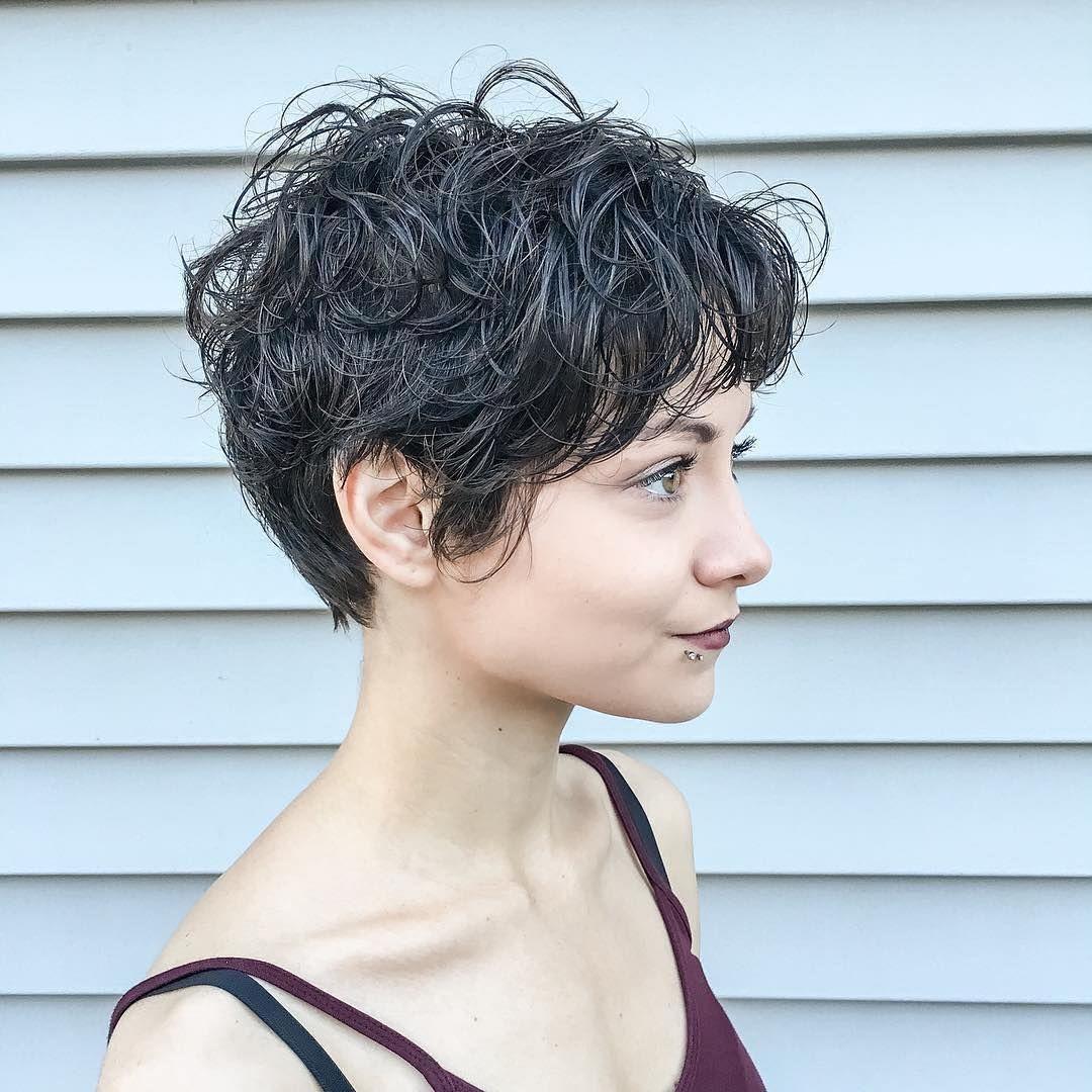 Frisuren Fur Naturkrauses Haar Kurz