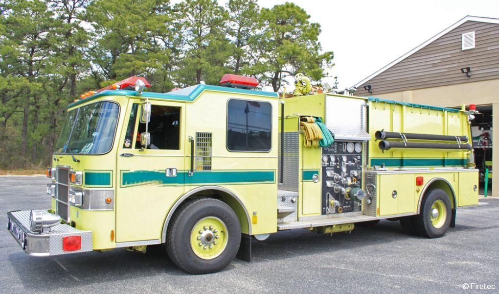 Used Fire Truck: 1993 Pierce Dash - for sale at Firetec Used