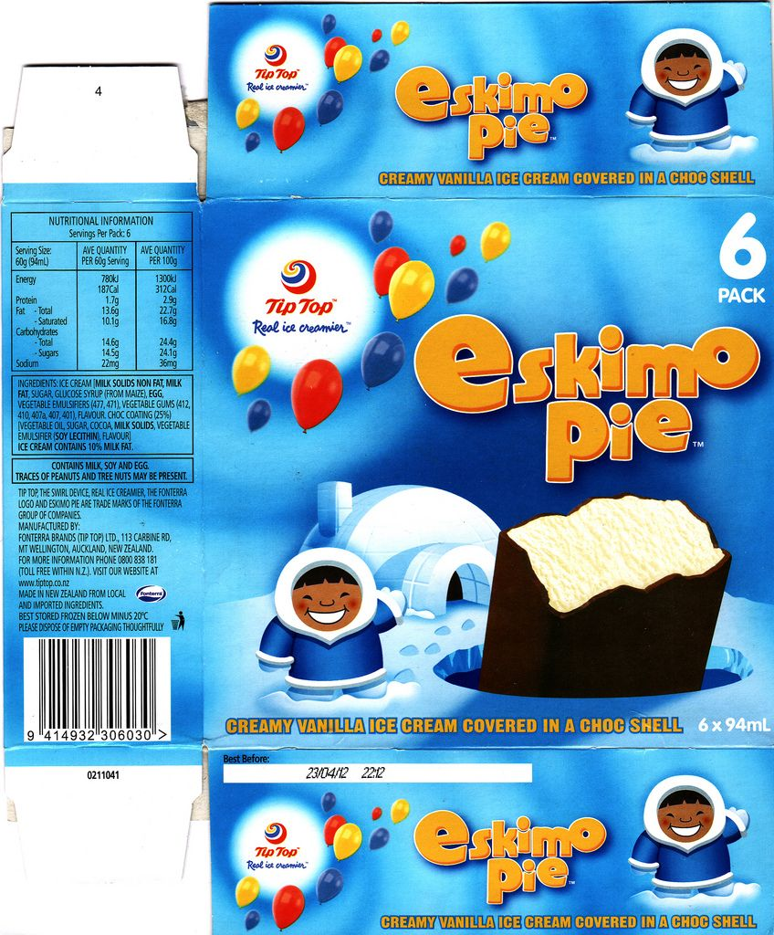 2011 Tip-Top Eskimo Pie Ice Cream Box - New Zealand | by NZCollector