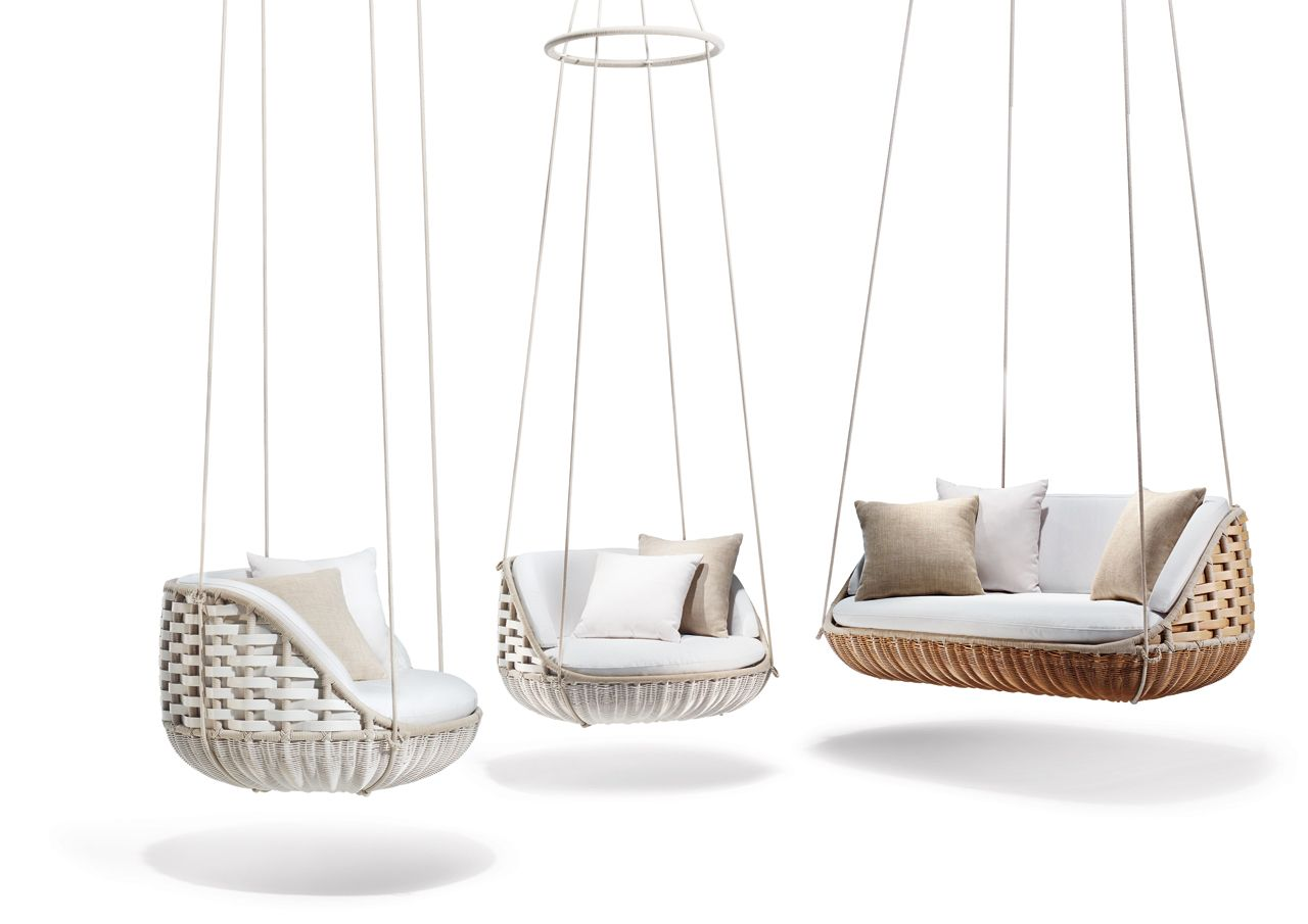 dedon had our hearts first with the daniel pouzet designed swingrest and theyre sillones colganteshamacas - Sillones Colgantes