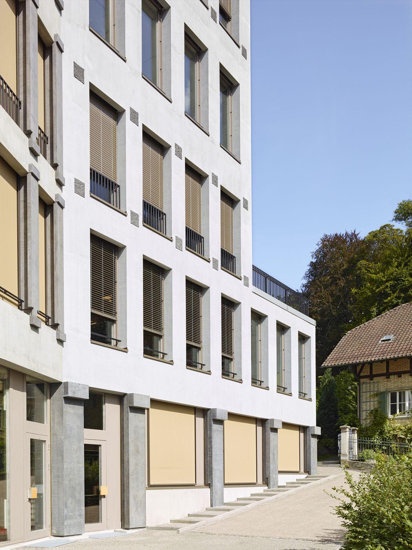 Neubau Hotelfachschule Belvoirpark Zürich, Peter Märkli Archit ...