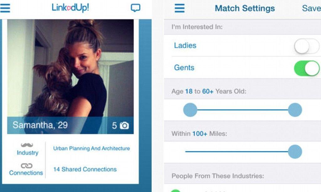 dating app linked to linkedin