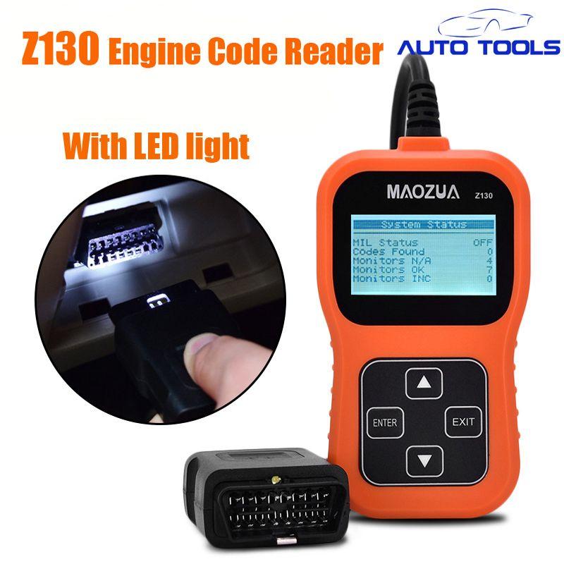 2017 auto car fault code reader Maozua Z130 obd engine