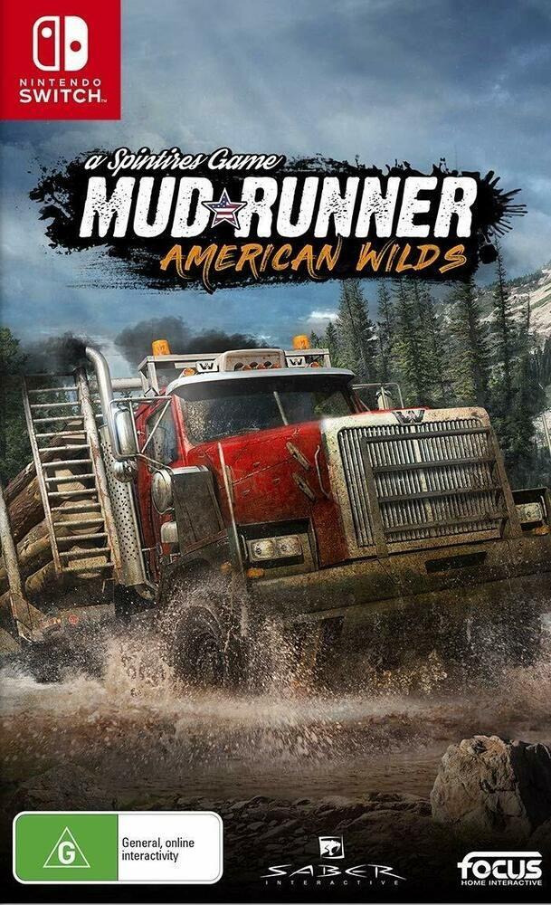 Spintires Mudrunner American Wilds ATV Driving Adventure