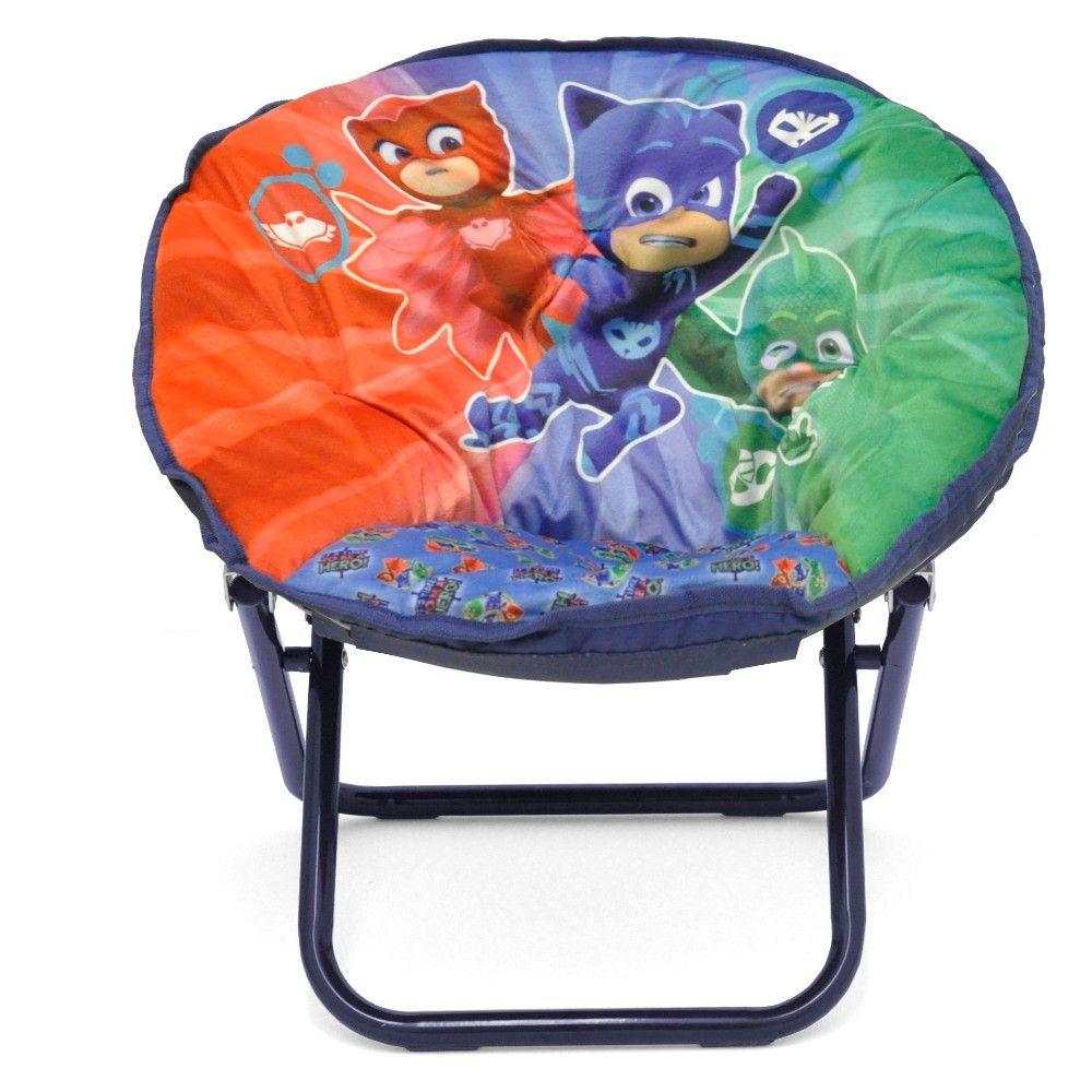 Nick Jr Pj Masks Toddler Saucer Chair, MultiColored