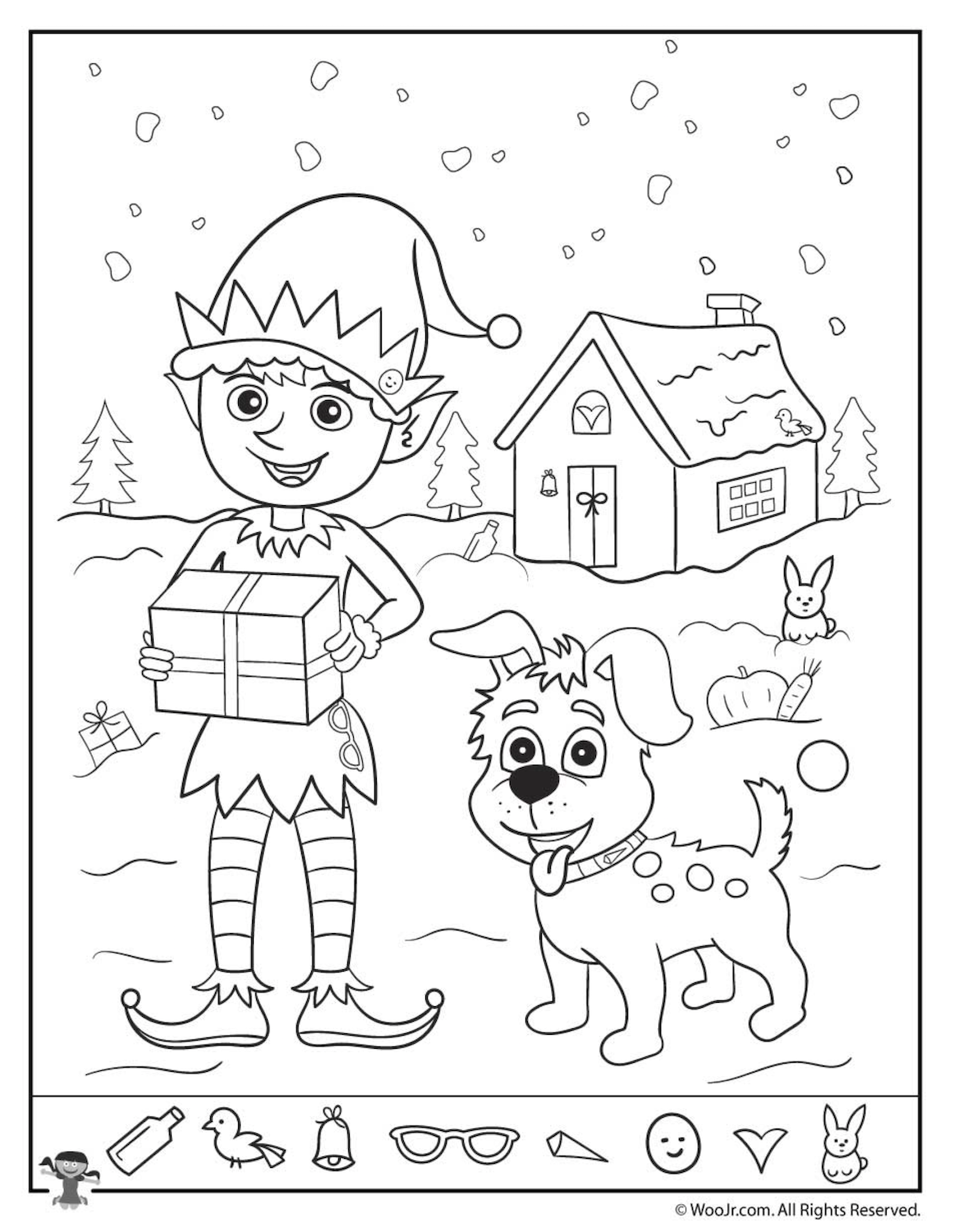 Christmas Coloring Pages | Pinterest | Free christmas printables ...