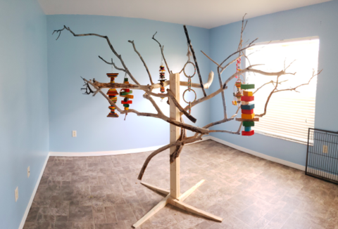 How We Made a Tree Stand that Would've Cost a Mortgage
