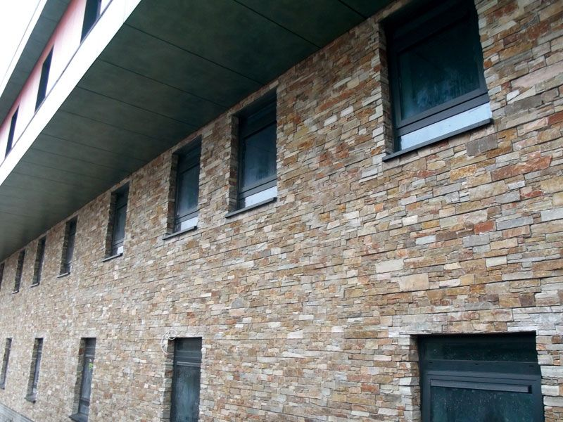 Morris Homes Stone Cladding Pinterest Facade architecture