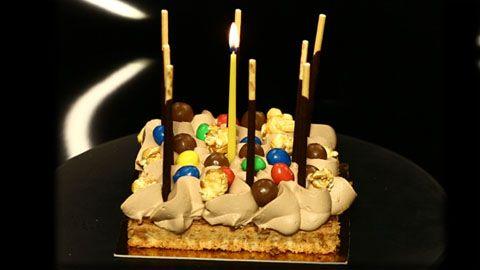 13/11/2013 - gâteau d'anniversaire de christophe michalak