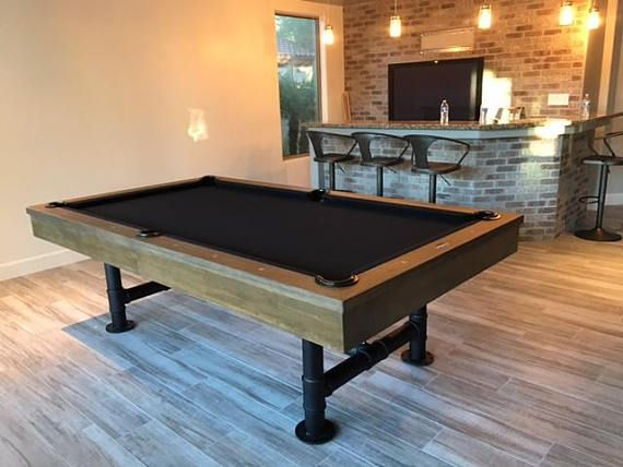 Quality High End Industrial Style Bedford Pool Table With Optional - High end pool table