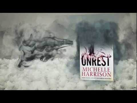 "Unrest by Michelle Harrison. ""When the dead don't sleep, the living are afraid to."" 