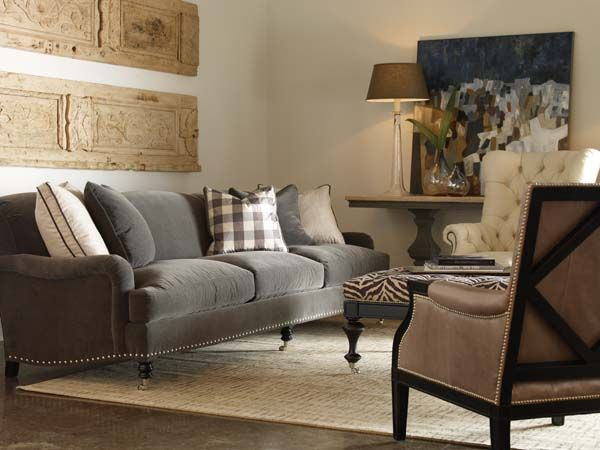 Lillian August Fine Furniture Love The Sofa Paint This Grey