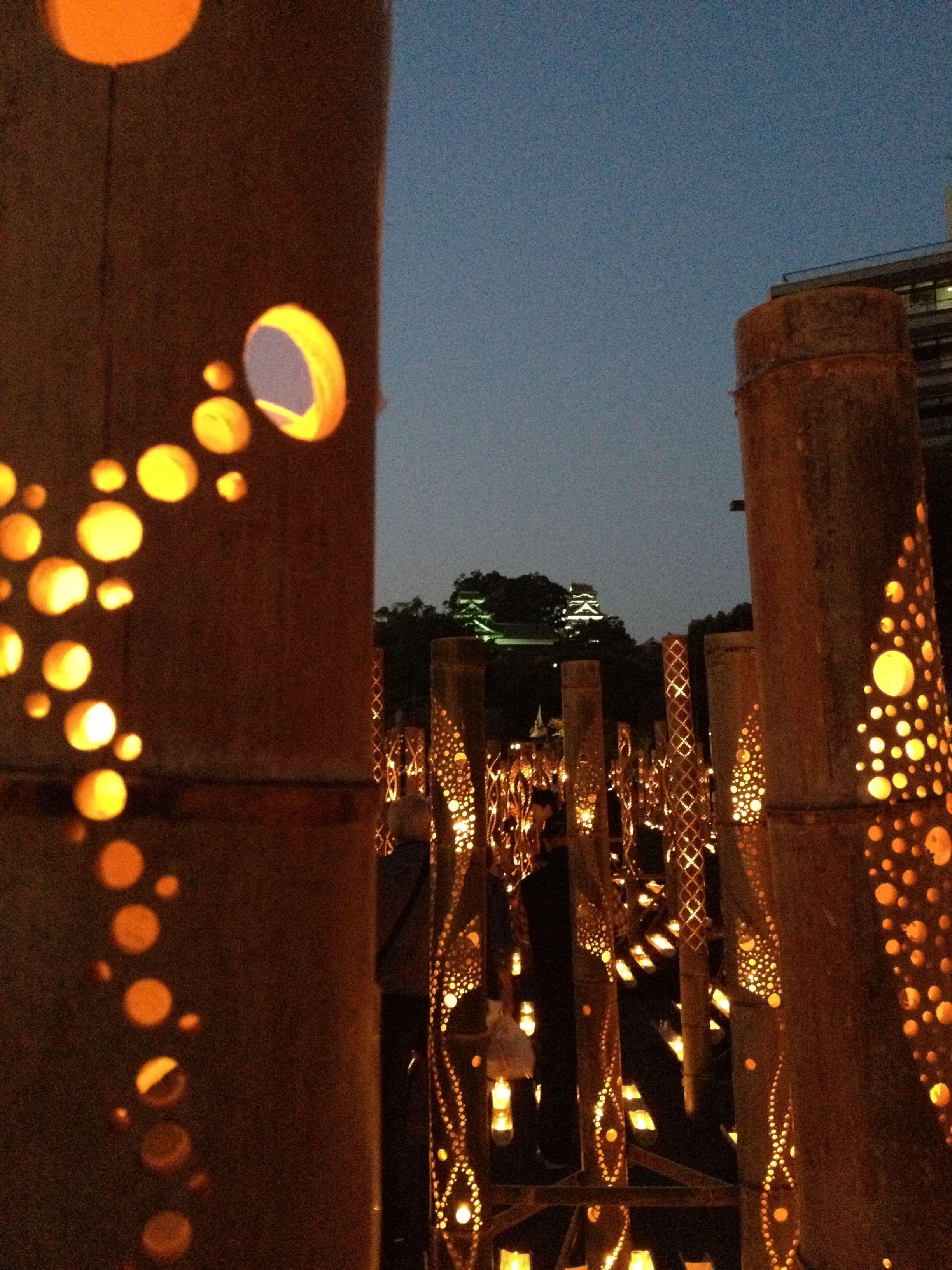 bamboo lights at Omotesando  Lighting Ideas  Pinterest  Lights