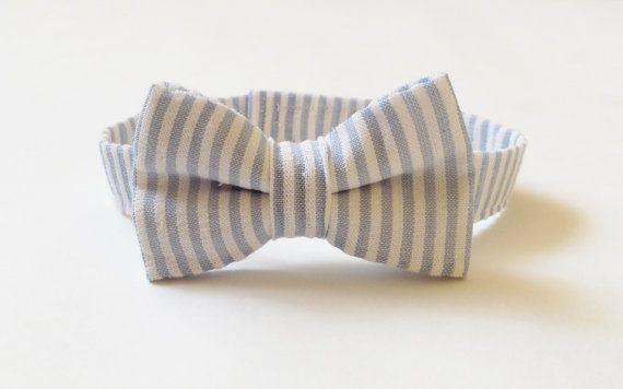The Rubert  Baby Toddler Boys bow tie blue by MolliandBean on Etsy, $12.00