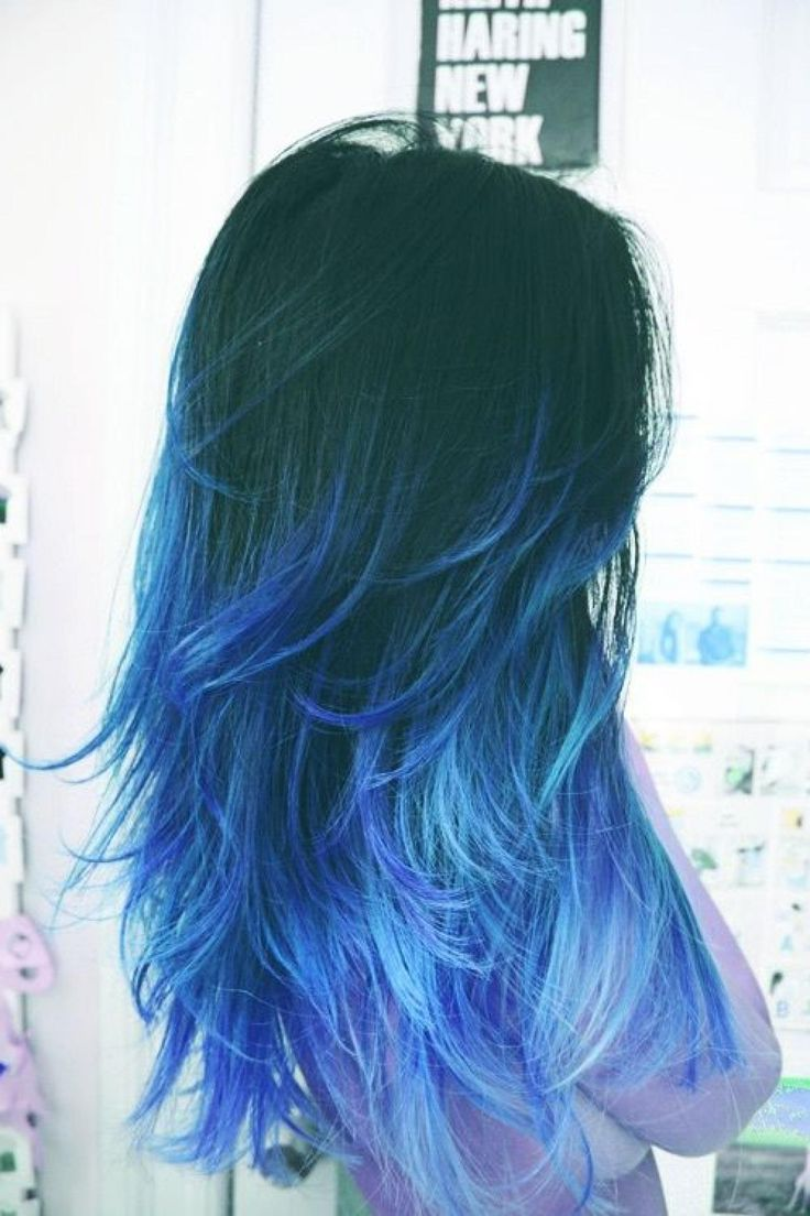 official hair styles 25 insanely awesome ombre hair blue purple 4595