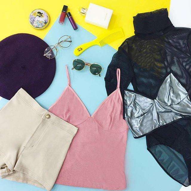 今日はなに着ていこうかな? What to wear today? ✨#AmericanApparel #りえこーで