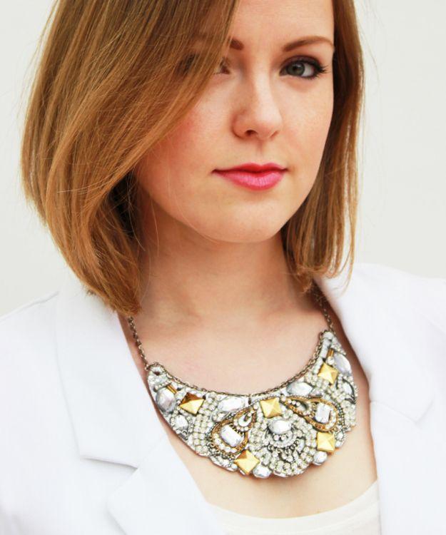 Plan B a n n a · e v e r s DIY Drama necklace