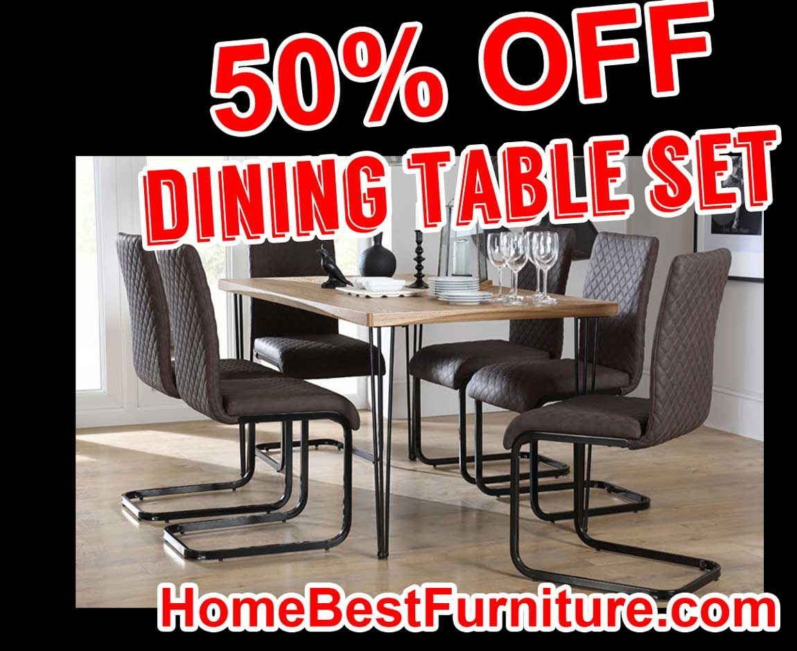 Sale discount bronx cm oak dining table and madison rustic