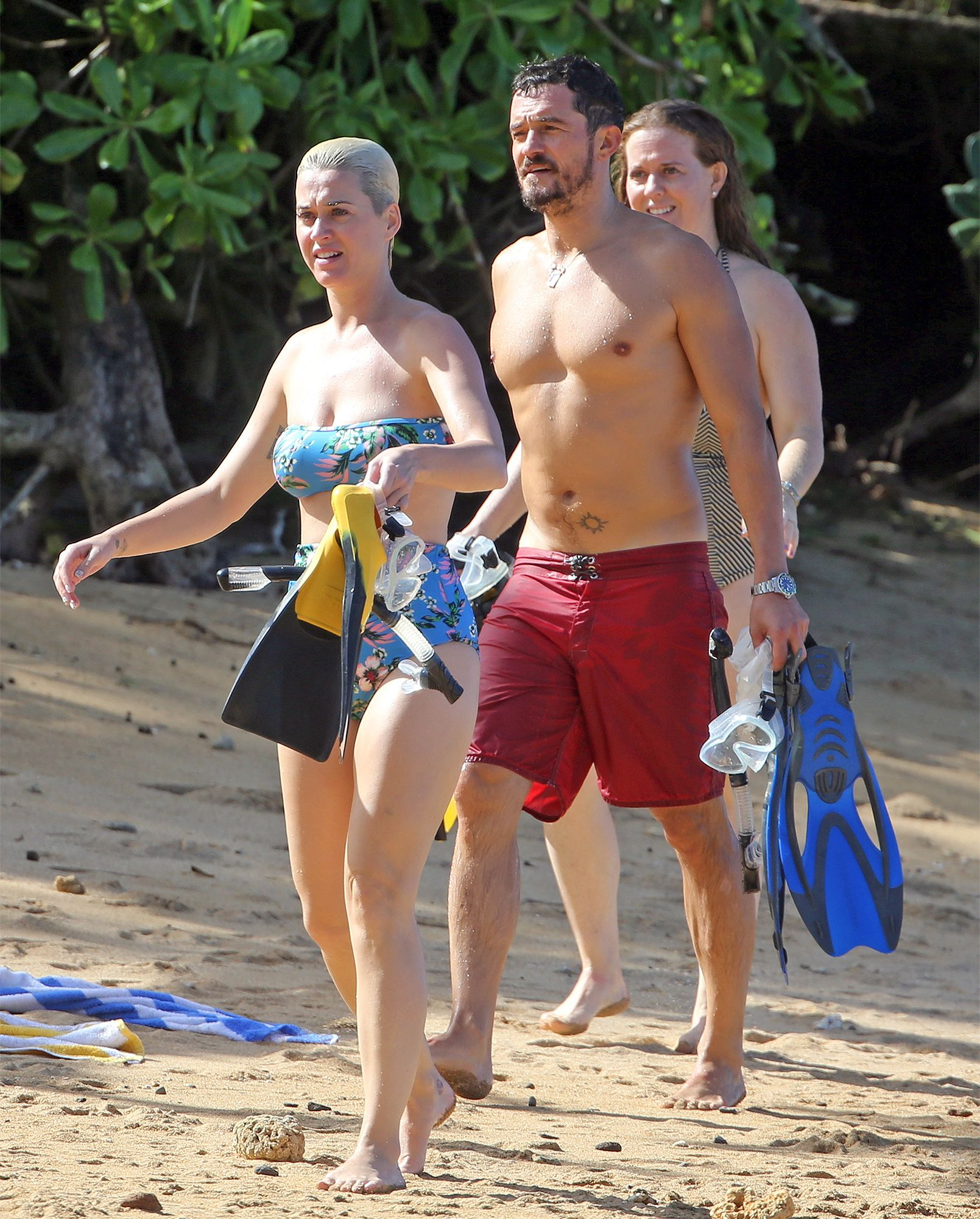 Katy Perry And Orlando Hit The Beach With Their Pups During Hawaiian Holiday Getaway Katy Perry Photos Katy Perry Katy