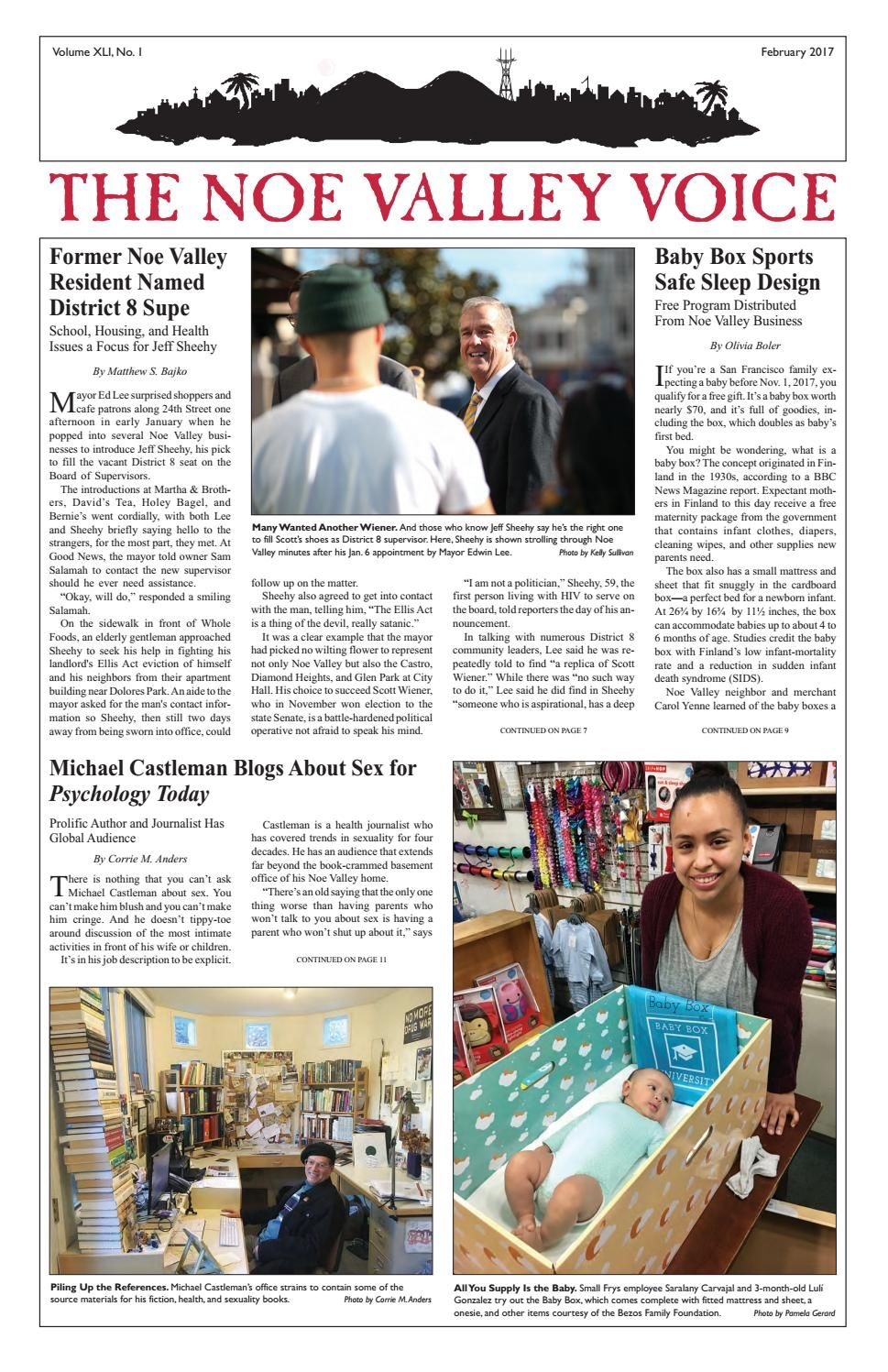 Noe Valley Voice February 2017 By The Noe Valley Voice Issuu The Voice Noe Valley Olivia B