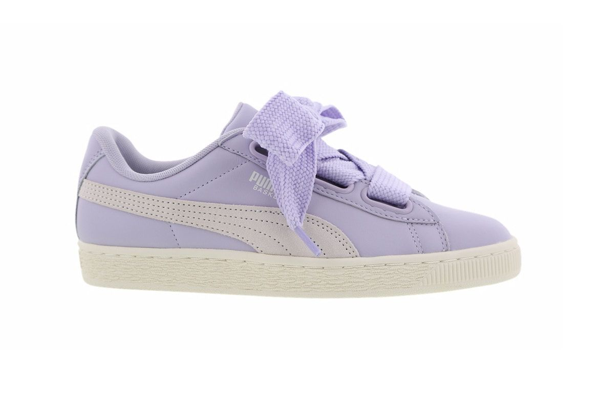 watch 70597 5a03a PUMA's Newest Basket Heart Is a Purple Present | Sneakers ...
