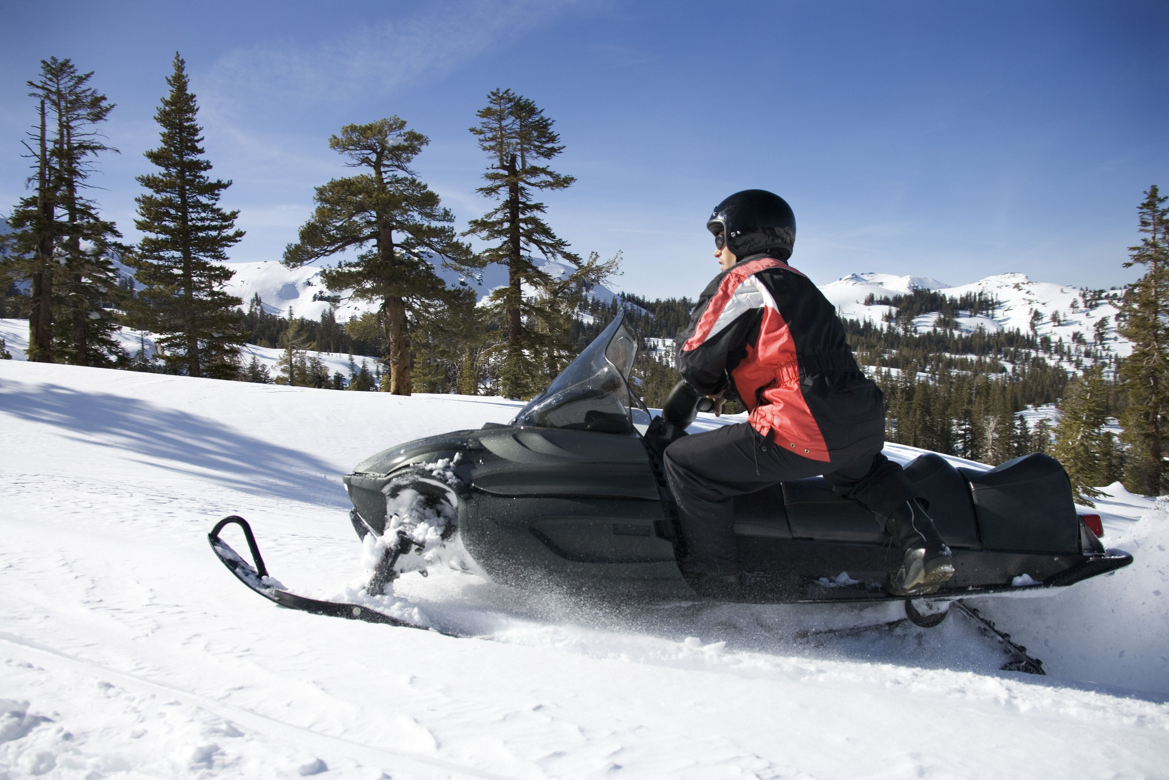It doesn't get more adventurous than snowmobiling in Riga or Krakow