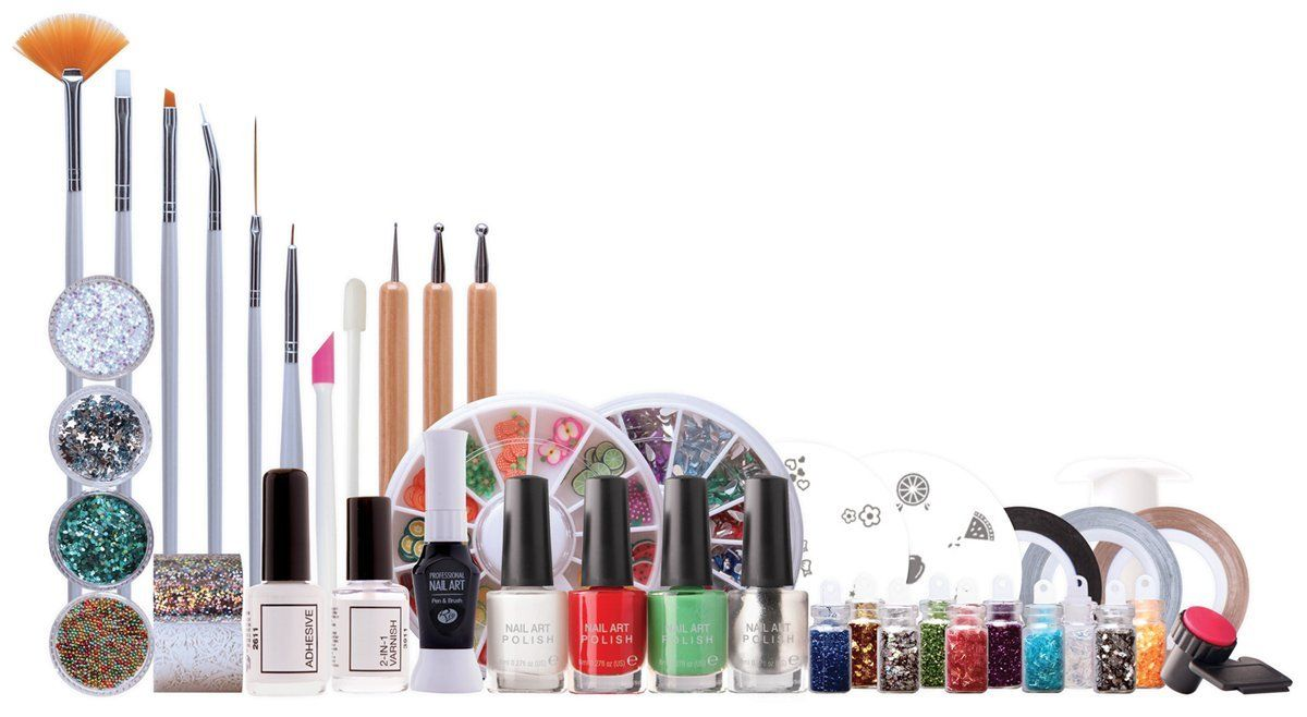 Rio Ultimate Nail Art Professional Artist Collection: Amazon.co.uk ...