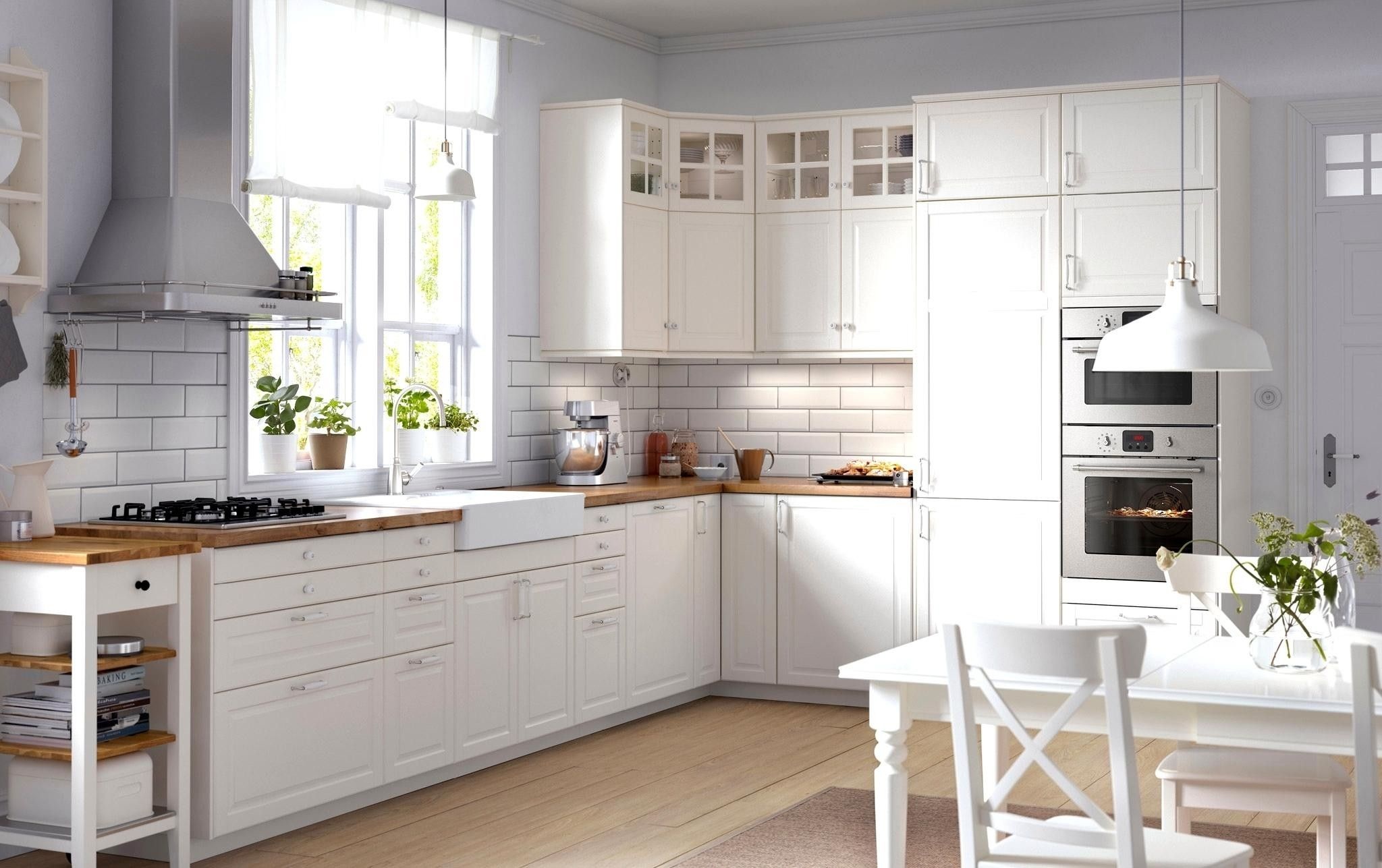 Ten Reasons Why Ikea White Kitchen Cabinets Uk Is Common In Usa Ikea Kitchen Design White Kitchen Design Ikea Bodbyn Kitchen