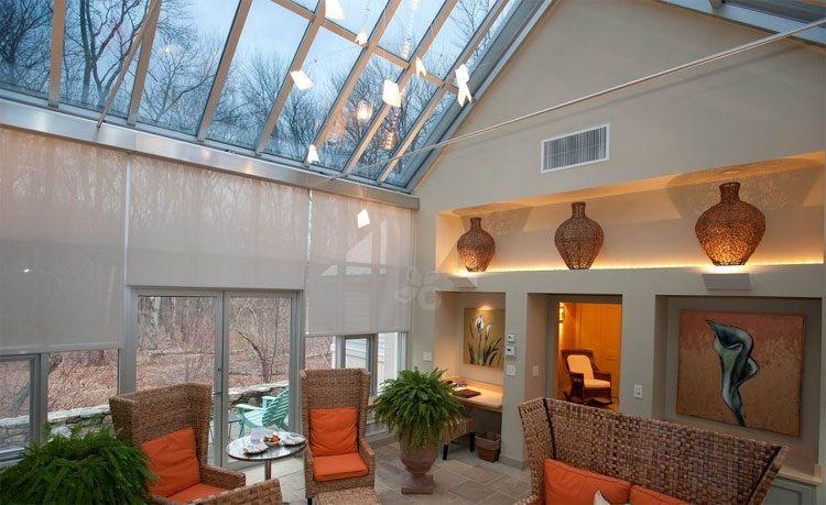 Greenhouse Cottage Living Room At Winvian Winvian Top