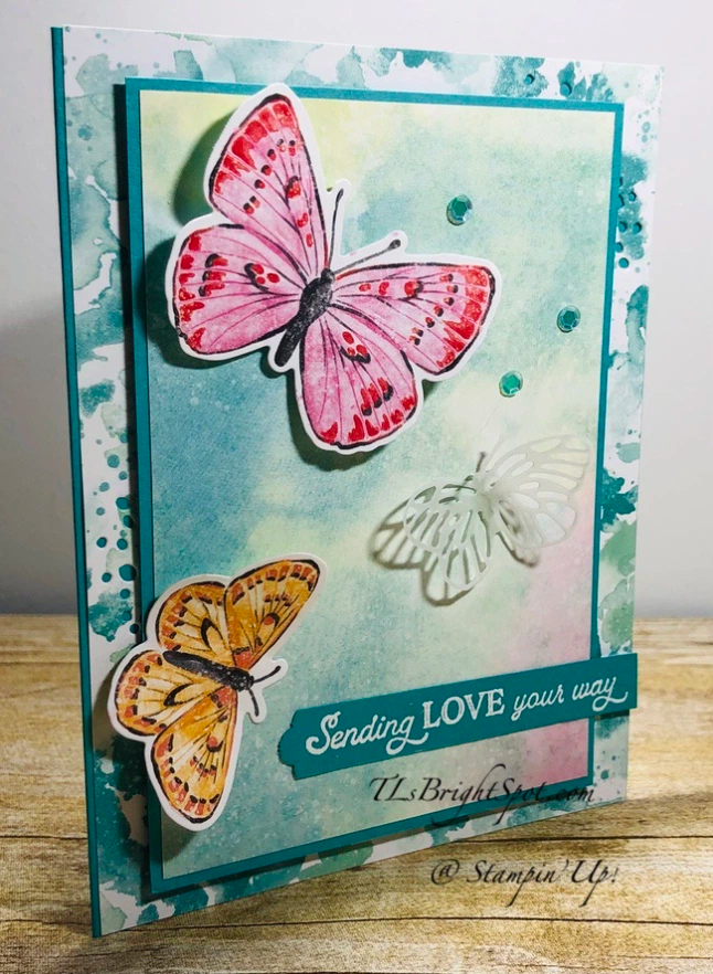 Stampin' Up! Butterfly Brilliance Love