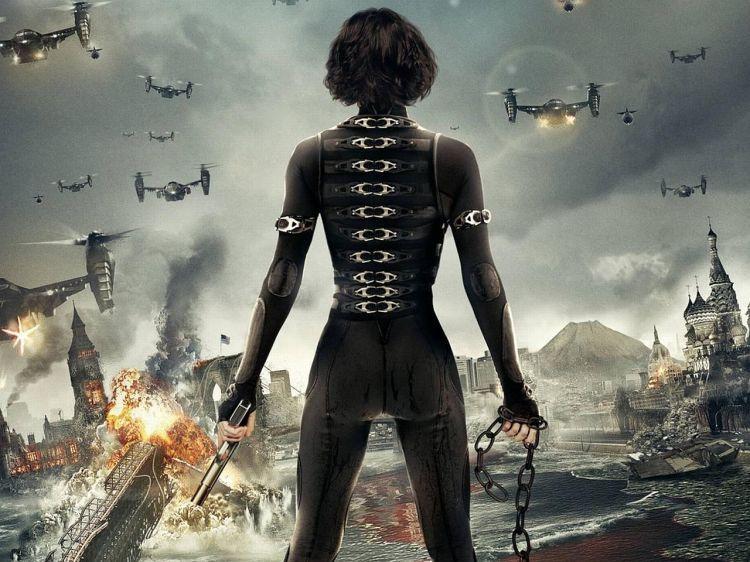 Fonds D Ecran Cinema Resident Evil Retribution Wallpaper N 382483 Ecran Cinema Milla Jovovich Resident Evil