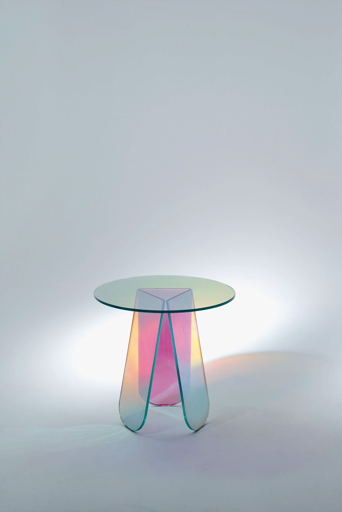 """Patricia Urquiola with """"Shimmer"""" for Glas Italia 