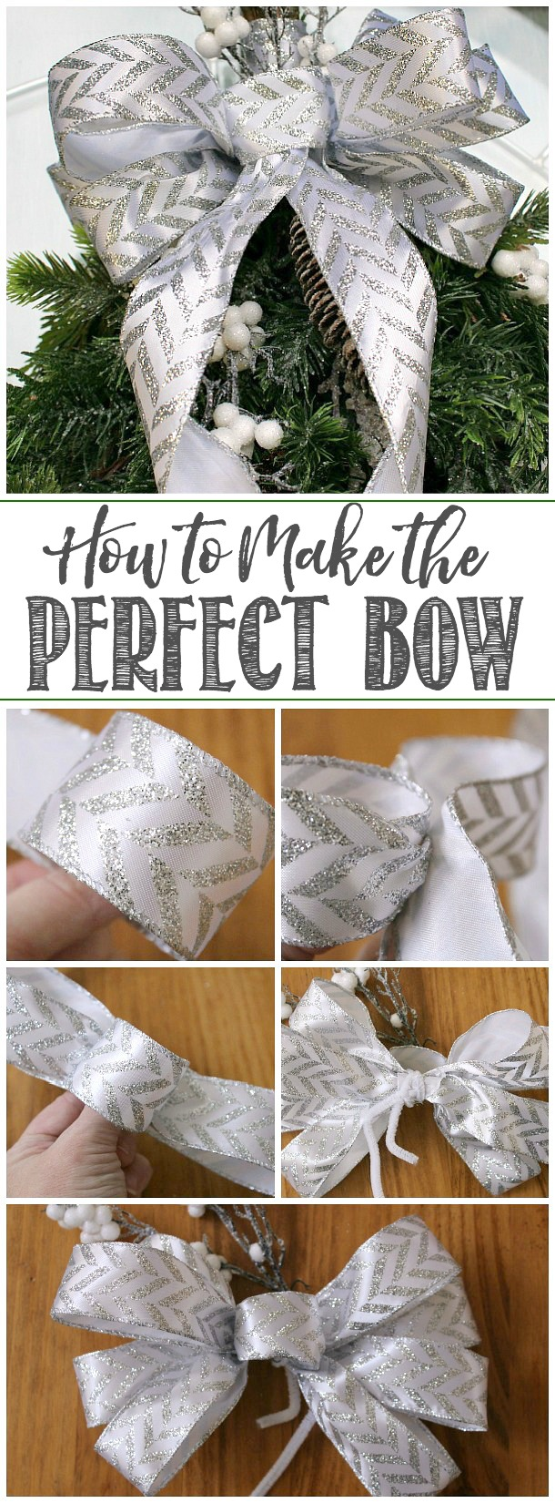 How to Make a Bow Out of Ribbon #ribboncrafts