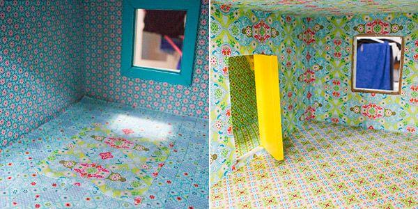 Alle Räume sind nun fertig tapeziert! DIY Blogger-Contest - tapezieren fenster