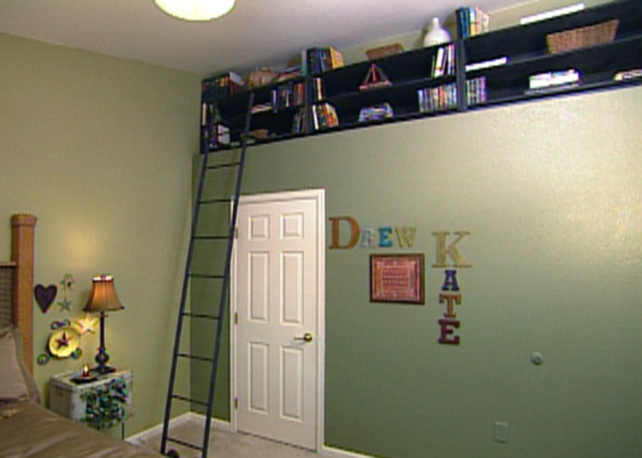 How To Build Bookshelves For A Recessed Nook
