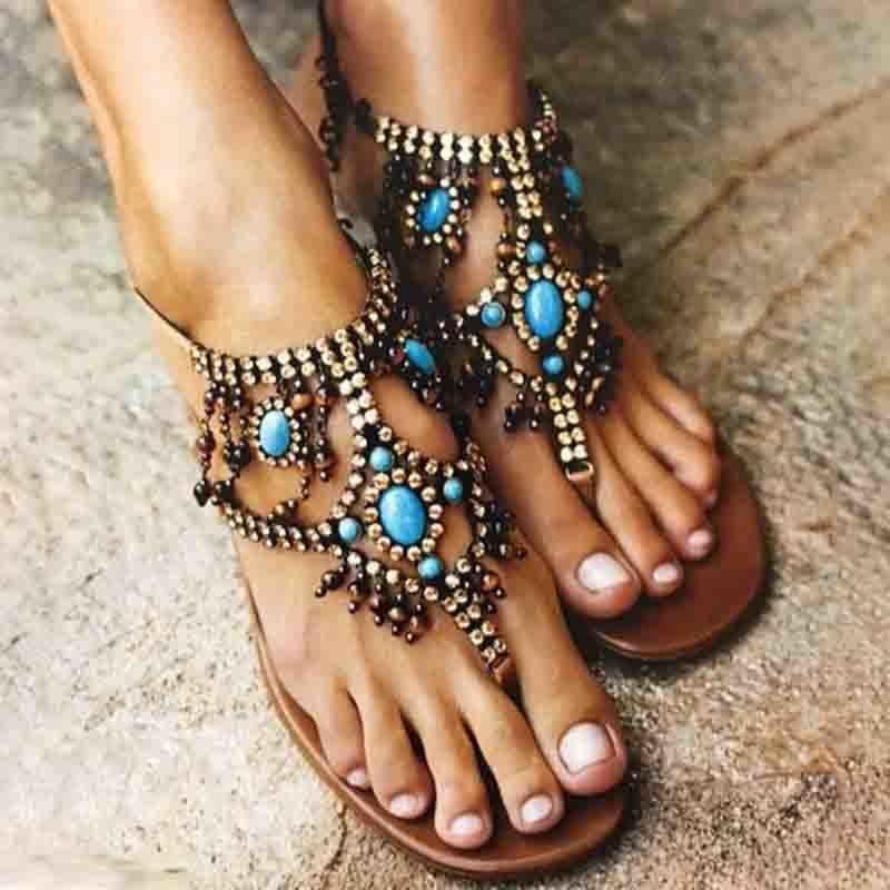 3a92a6c6f3de Women PU Sandals Casual Flip Flops Shoes - JustFashionNow.com ...