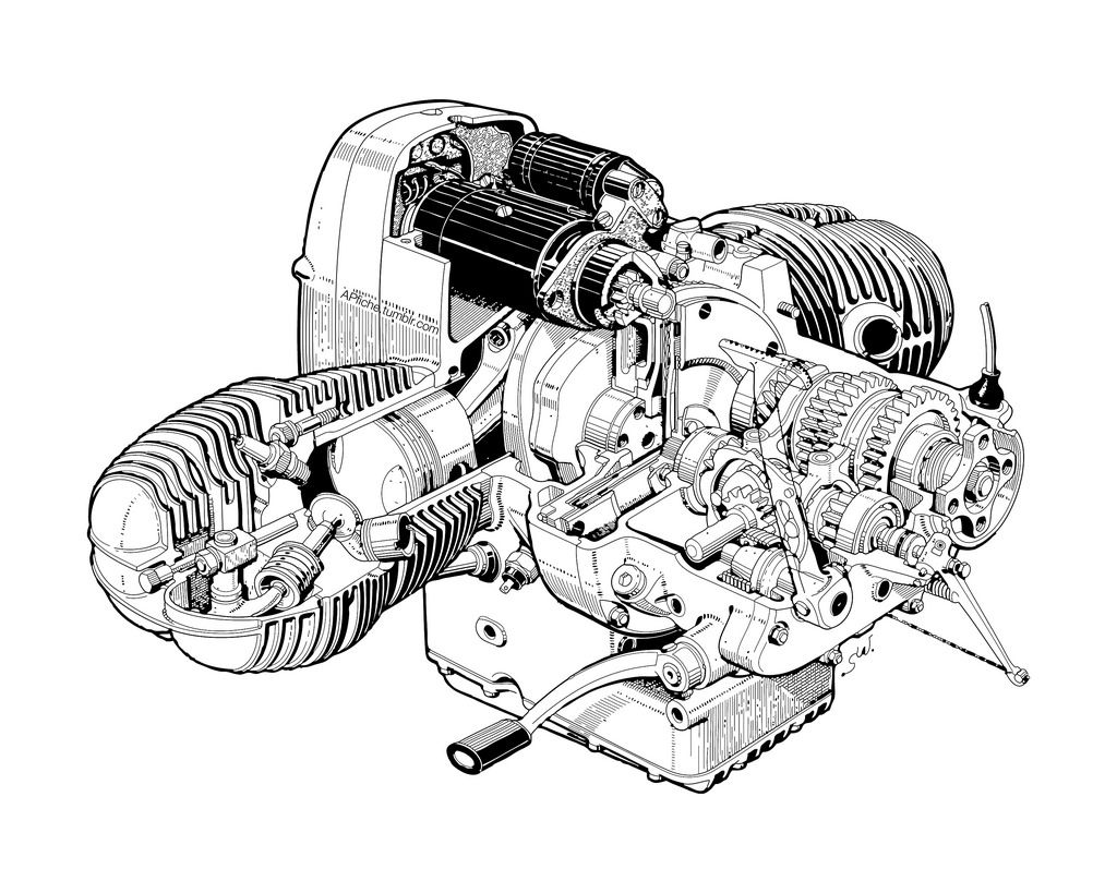 Image Result For Bmw Motorcycle Boxer Engine